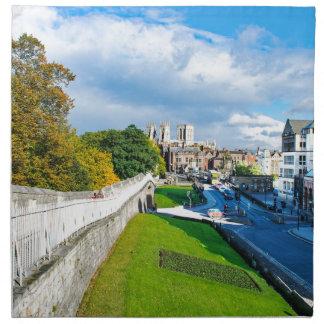 York Walls and Minster Napkin