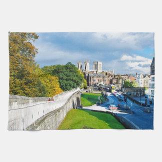 York Walls and Minster Tea Towel