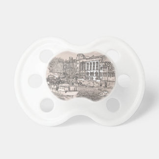York with pencil and tint baby pacifier