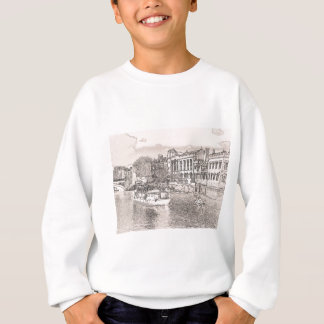 York with pencil and tint sweatshirt