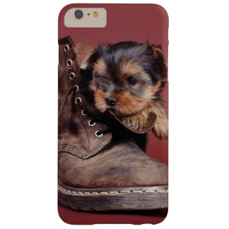 Yorkie boots barely there iPhone 6 plus case