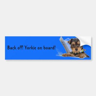 Yorkie Bumper Sticker