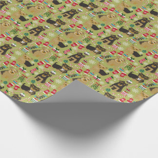 Yorkie  Christmas wrapping paper
