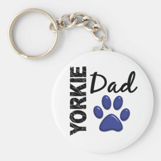 Yorkie Dad 2 Key Ring