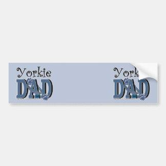 Yorkie DAD Bumper Stickers