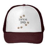 Yorkie Dad Mesh Hats