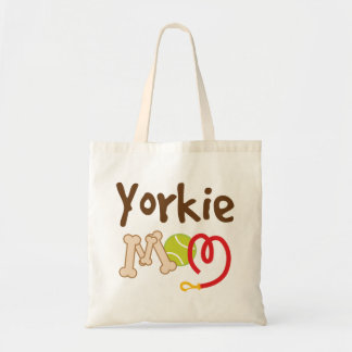 Yorkie Dog Mom Yorkshire Terrier Tote Bag