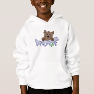 Yorkie Dog Woof (blue)