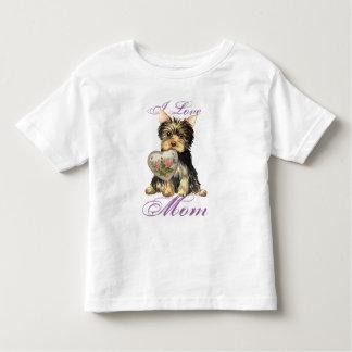 Yorkie Heart Mom Shirts