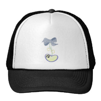 Yorkie-hearts Mesh Hat