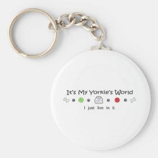 Yorkie Key Ring