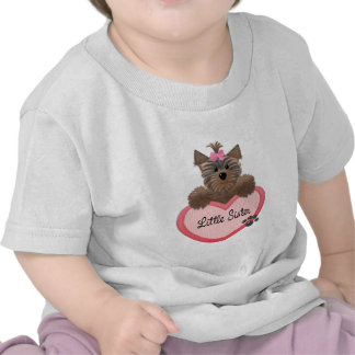 Yorkie Little Sister Tshirts