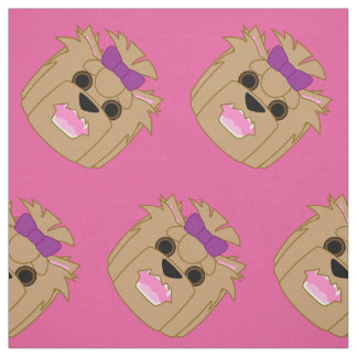 Yorkie Love Fabric