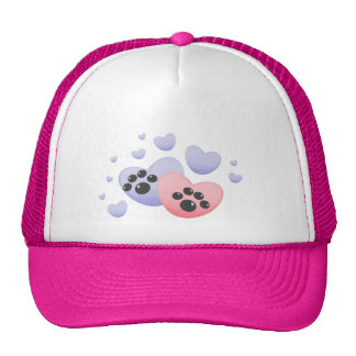 Yorkie-love Mesh Hats