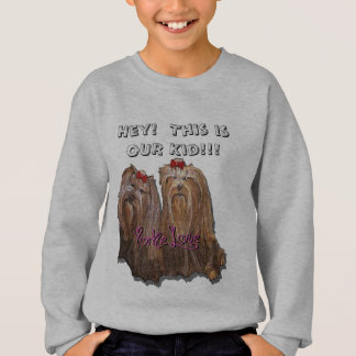 Yorkie Love - Kids' Hanes ComfortBlend® Sweatshirt