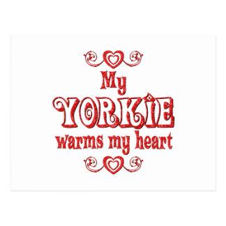 YORKIE Love Postcard