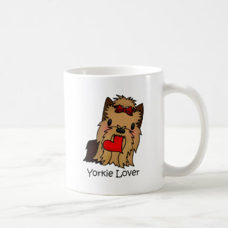 Yorkie Lover, Yorkshire Terrier Coffee Mug