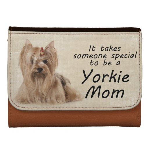 Yorkie Mom Wallet
