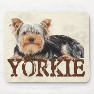 Yorkie Mouse Pad