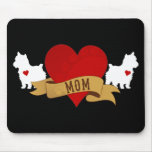 Yorkie Mum [Tattoo style] Mouse Pad