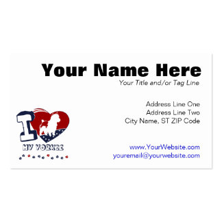 Yorkie Pack Of Standard Business Cards