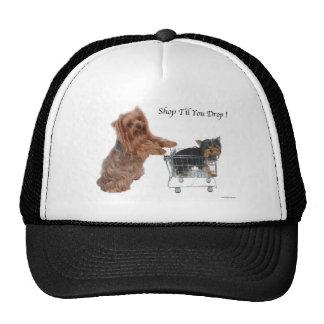 Yorkie Shop Til You Drop Hat