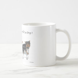 Yorkie Shop Til You Drop Mug