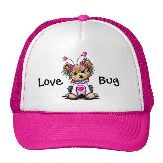 Yorkie Terrier Love Bug Cap