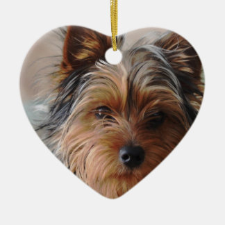 Yorkie Terrier  Ornament