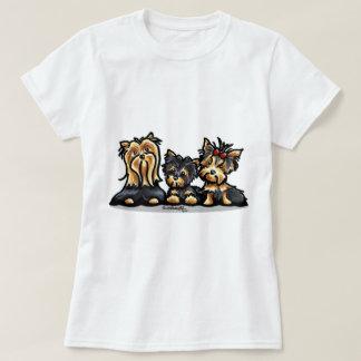Yorkie Trio T-Shirt