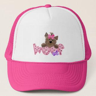 Yorkie Woof Trucker Hat