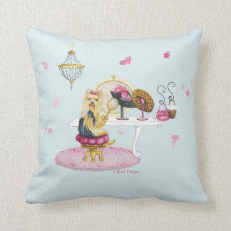 Yorkie Yorkshire Boudoir Pillow