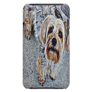 Yorkie Yorkshire Terrier Colored iPod Case-Mate Case