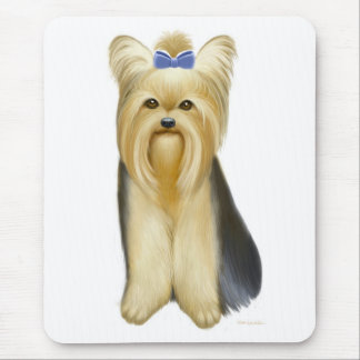 Yorkie Yorkshire Terrier Mousepad