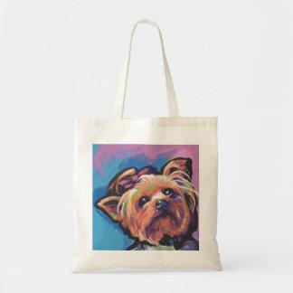 Yorkie Yorkshire Terrier Pop Art Tote Bag