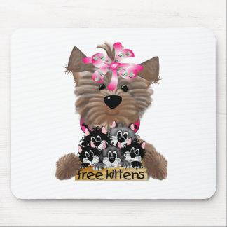 Yorkiegirl free Kittens Mouse Mat