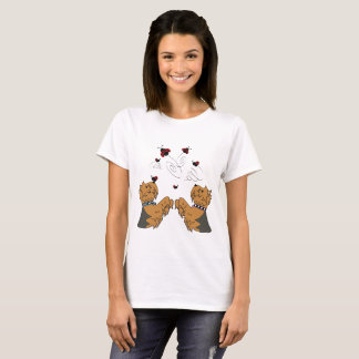 Yorkies and Ladybirds T-Shirt