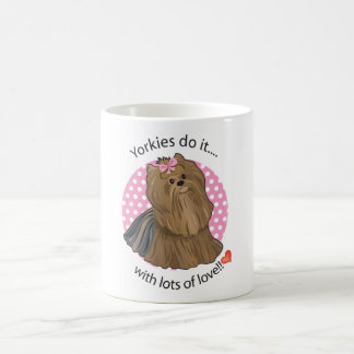 Yorkies Coffee Mug
