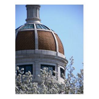YorkPA- Spring Blossom Dome Postcard