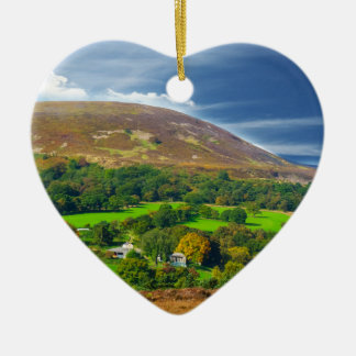 Yorkshire at it,s best ceramic heart decoration