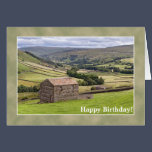 Yorkshire Birthday Card