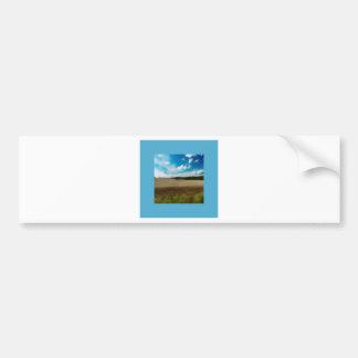 Yorkshire Blur in the border Bumper Sticker