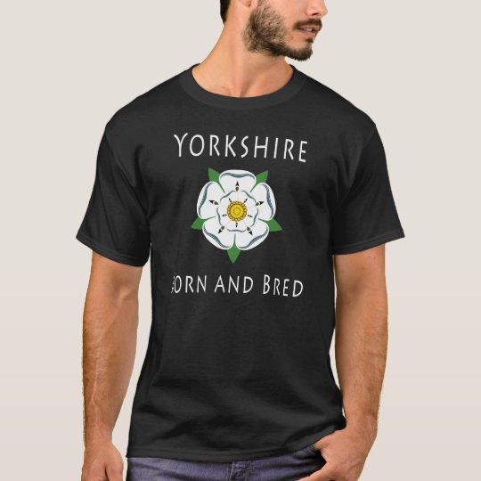 Yorkshire Born and Bred Dark Tee