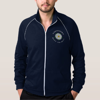 Yorkshire Born and Bred Fleece Track Jacket