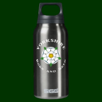 Yorkshire Born and Bred Insulated Water Bottle