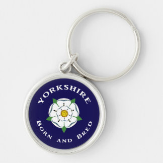 Yorkshire Born and Bred Keyring Keychains