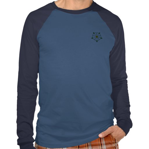 Yorkshire Born and Bred long sleeved Jersey T Shirt