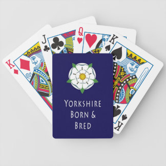 Yorkshire Born and Bred Playing Cards