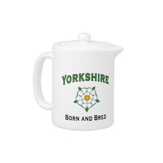 Yorkshire Born and Bred Teapot