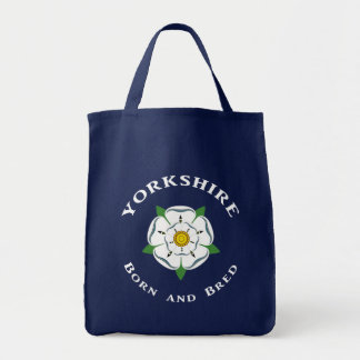 Yorkshire Born and Bred Tote Bag